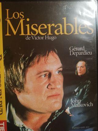 vende película dvd los miserables Gérard depardieu