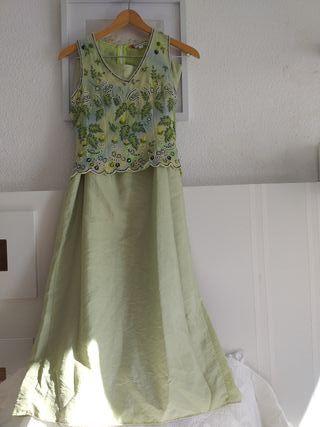 Vestido de 2 piezas para Fiestas,bodas,eventos .