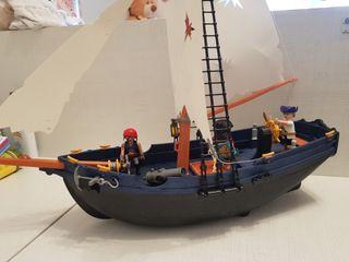 barco playmobil pirata