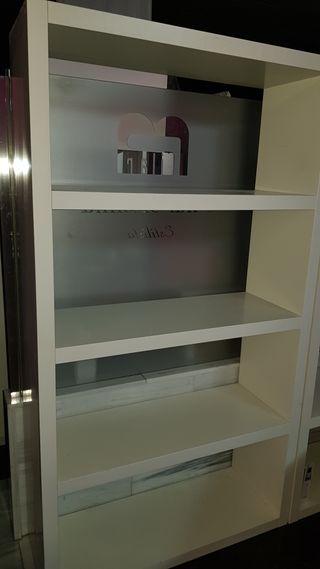 estanteria blanca ikea 10 unidades