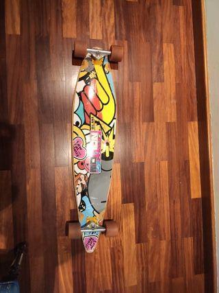 Longboard con ejes Turck
