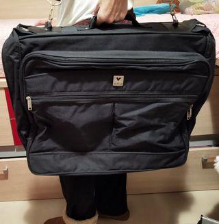 Maleta/ maletín grande de mano negro