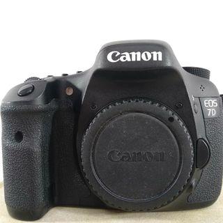 Cámara de fotos Canon 7D