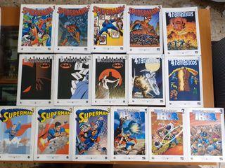 Lote de Comics - Biblioteca El Mundo. DC y MARVEL