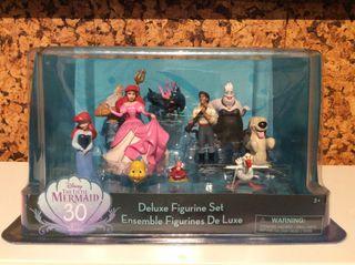 Lote figuras Deluxe sirenita Ariel Disney