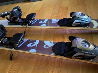 Esquís mujer 160-165 cm