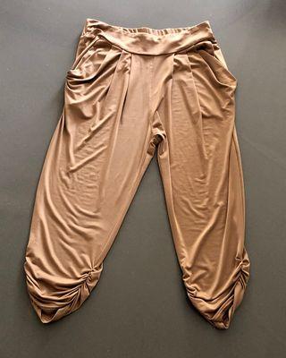 Pantalon Harem en matière ultra fluide et douce
