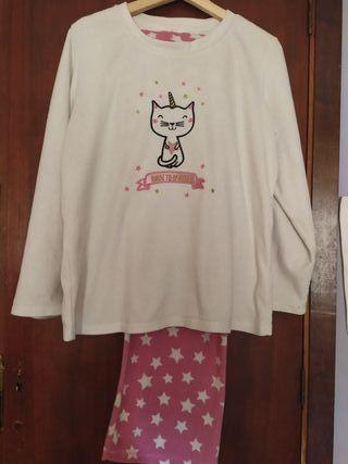 Pijama Polar Gaticornio