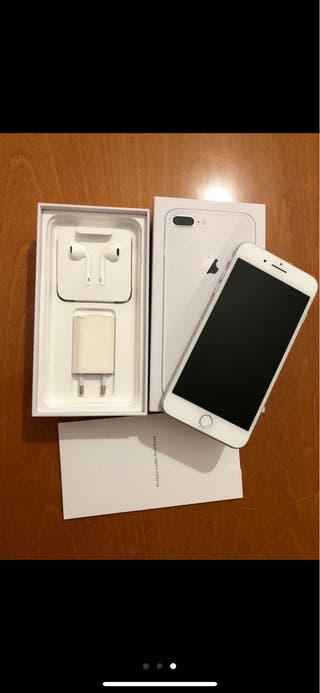 Iphone 8 plus blanco de 256gb