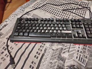 teclado mecanico por usb con luces