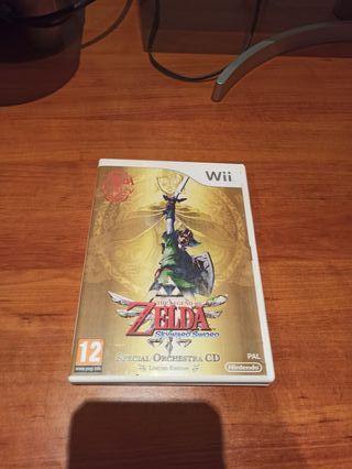 Zelda skyward sword de Wii