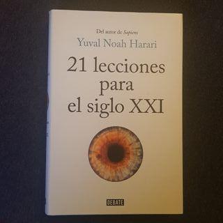 21 lecciones para el siglo XXI (libro nuevo)