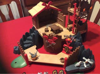 Playmobil bastión vikingo + extras
