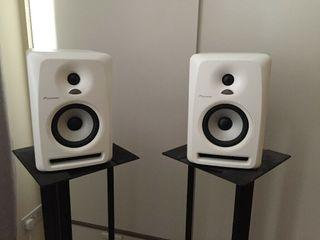 Monitores Pioneer activos de estudio S-DJ50X W