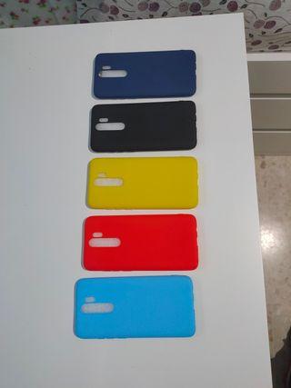 ULTIMO PRECIO5Fundas NUEVAS Xiaomi redmi note 8pro