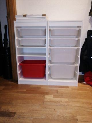 mueble almacenaje infantil