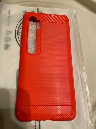 Funda Xiaomi mi note 10 Pro silicona
