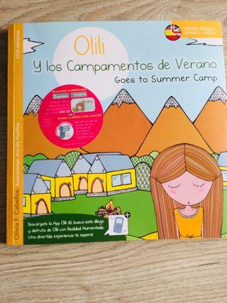 """Libro infantil """"Olili y los campamentos de verano"""""""