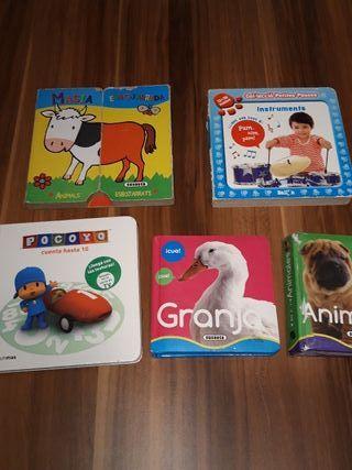 lote primeros libros cuentos para bebe pocoyo