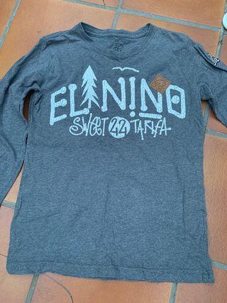 Camiseta marca el niño color gris talla 12