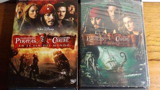 Piratas del caribe - pack 4 películas - DVD