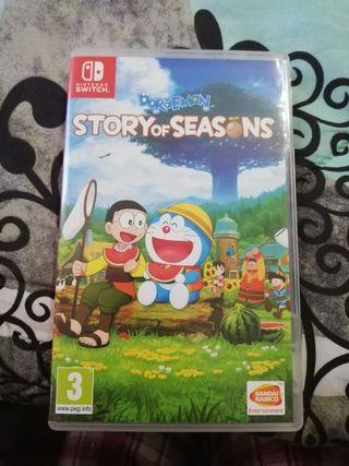 Juego Nintendo Swich / Doraemon story of seasons