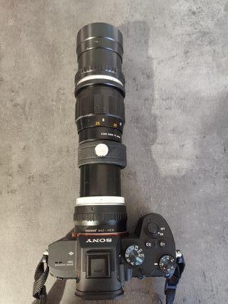 Teleobjetivo Hanimar 300mm F5.5 M42