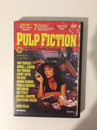 Pulp Fiction DVD Película