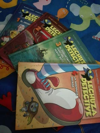 libros de Lechuza Detective