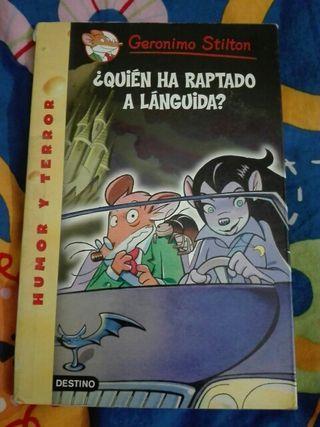 libro Gerónimo Stilton, Quién ha raptado a Languid