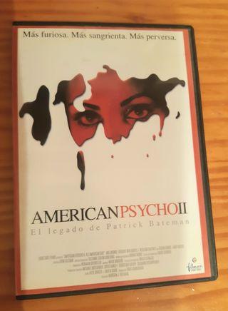 DVD AMERICAN PSYCHO II