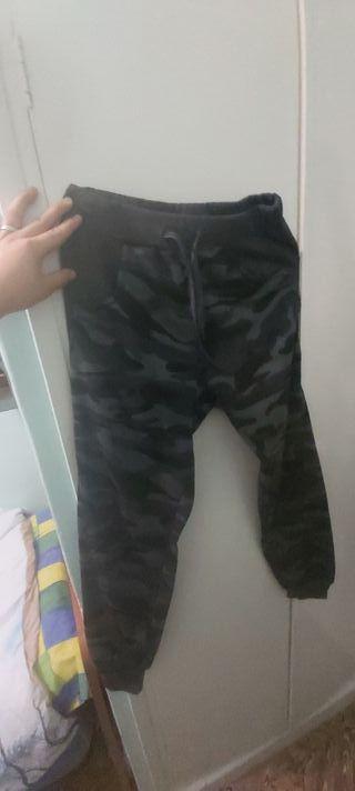 pantalón militar gris azulado