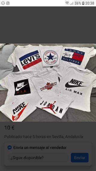 camisetas todas las tallas