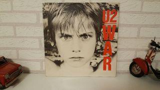Disco de vinilo lp U2 War 1990