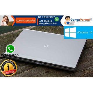 Portátil HP EliteBook 2560p, I5, Windows 10 Gratis