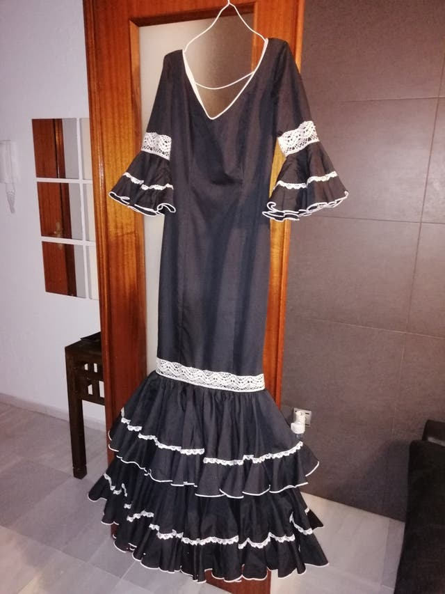 traje de flamenca/gitana