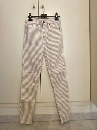 Pantalones rayados Stradivarius