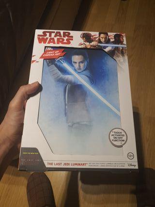 Star Wars The Last Jedi Luminart original
