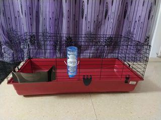 Jaula grande para conejos, coballas y hurones
