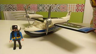 Avión policía