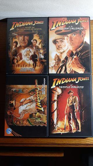 Indiana Jones - pack 4 películas - DVD