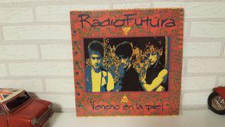 Disco de vinilo lp Radio Futura