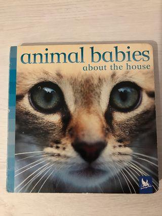 Libro Infantil de Animales en Inglés