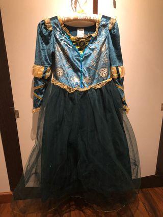 Disfraz de Mérida (película Brave de Disney)