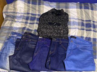 Lote ropa hombre ( 1 jersey y 5 pantalones)