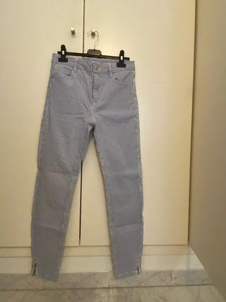 Pantalones rayados del Stradivarius