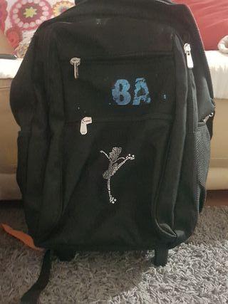 mochila patinage/colegio