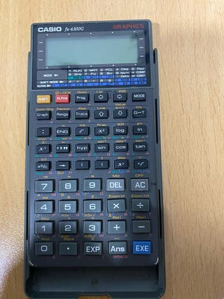 Calculadora Programable y gráfica CASIO FX 6300