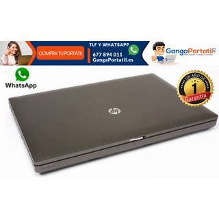"Portátil Hp ProBook 6570b, 15,6""/i5/Cam/500Gb/8Gb"