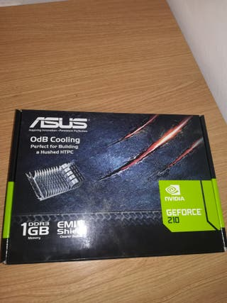 tarjeta gráfica Nvidia GeForce 210 de 1 gb